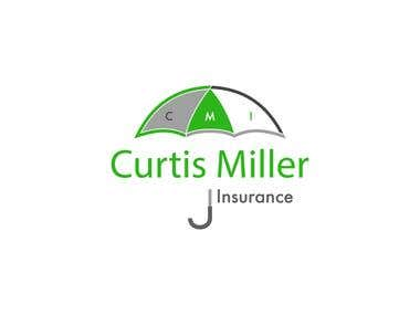 "Rejected Design for ""Curtis Miller Insurance"""