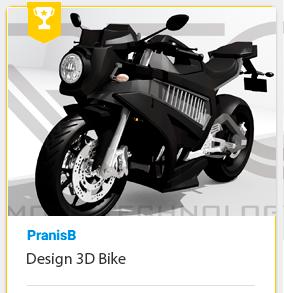 3D Modeling Bike