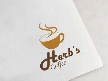 Herb's Coffee Logo