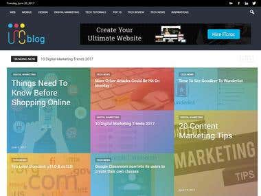 ITcroc Blog Website