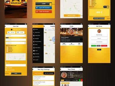 Cab /Car Booking App