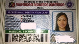 Medical Technologist ID