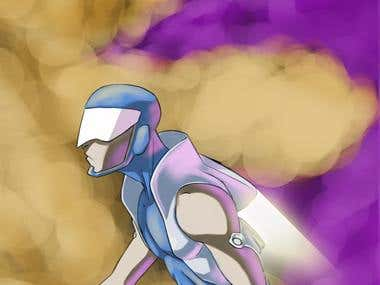 Mega Man character Design
