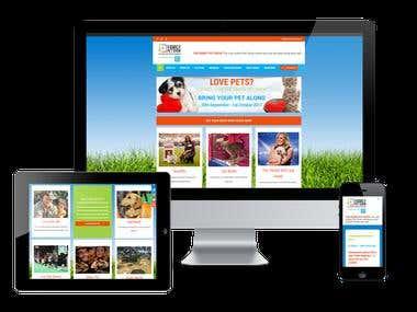 Pet Show Website