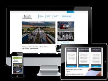 Transport Website