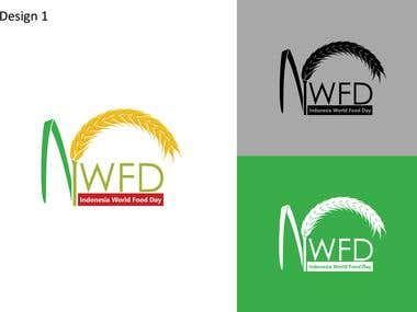 """Rejected Design for """"Indonesia World Food Day"""" event."""