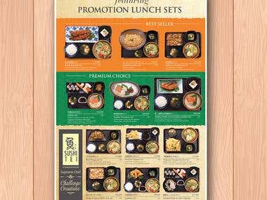 SushiTei Promotion Menu