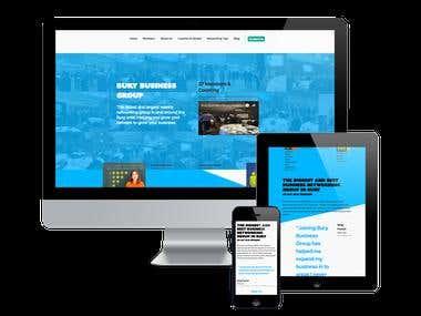 Business Group Website