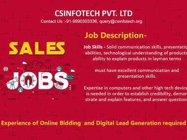 Sales Job Banner
