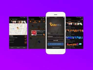 Votemix Party App