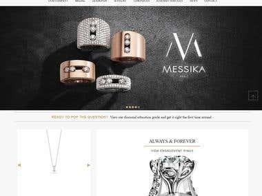 Diamond Jewelry Store- Magento