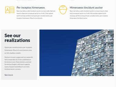 Glass Company Website
