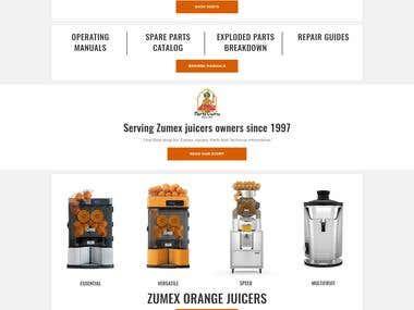 Buy Zumex Parts