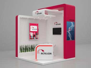 Exhibition stand Actelion