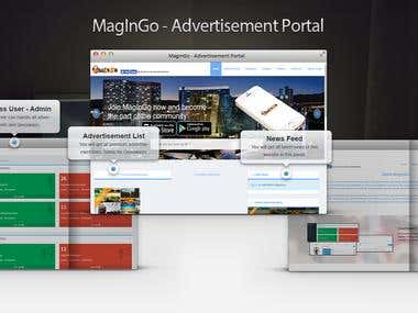 MagInGo | Advertisement Portal