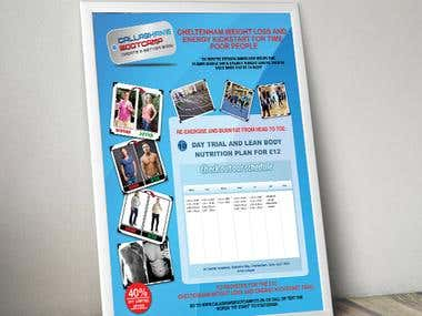 Weight loss flyer