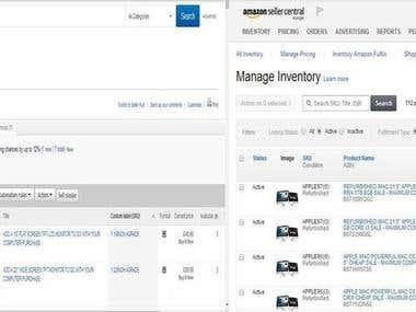 ebay to amazon product listing