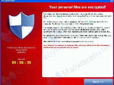 Cryptolocker Ransomware Development