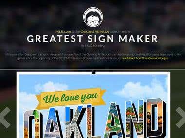 Greatest Sign Maker