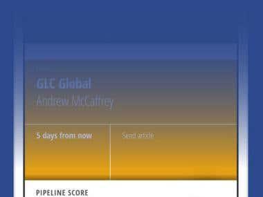 Practice Pipeline : i-phone app
