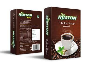 Rimton Tea package