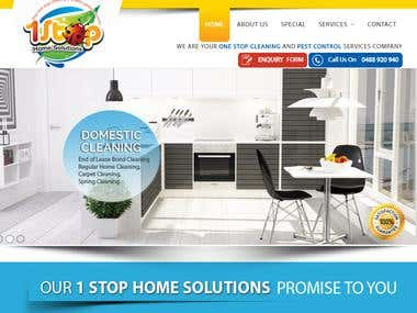 Cleaning Company - www.1stophomesolutions.com.au