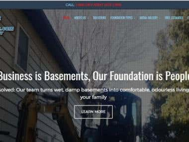 Basement company website