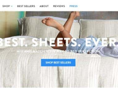 Sheets Website