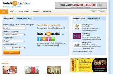 Hotels/travel Booking and remark.