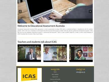 Educational courses website