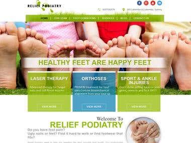 HEALTHY FEET -www.reliefpodiatry.com.au