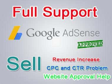 Google AdSense Support and help for Increase Revenue