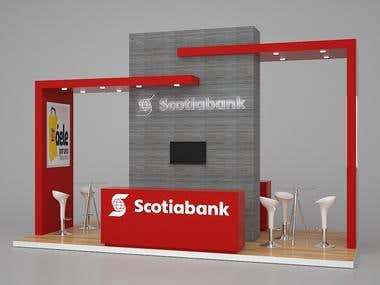 Exhibition stand Scotiabank