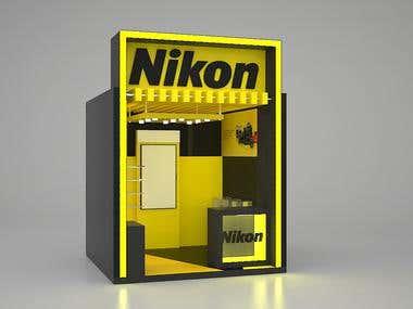 Exhibition stand Nikon