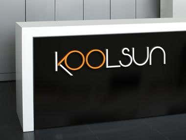 Logo for sunglasses brand