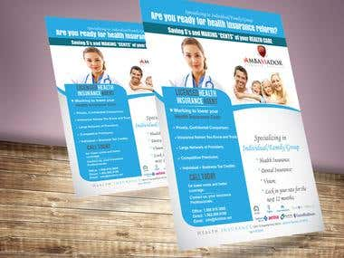 health care flyer