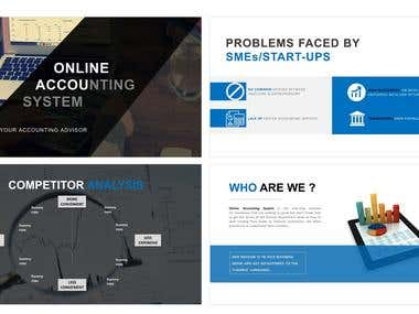 Pitch ppt for online accounting company