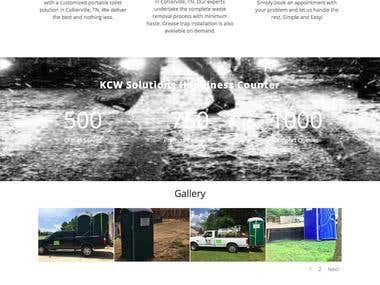 KCW Solutions - Small business website
