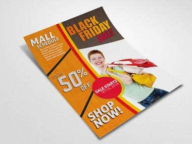 Black Friday Sale Flyer Design by Teamph