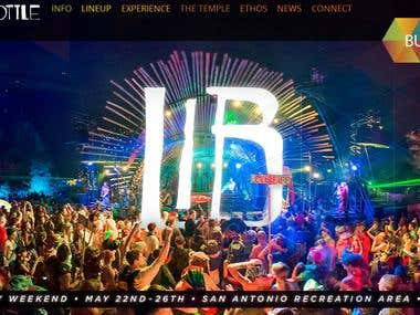 2014 Lightning in a Bottle Website