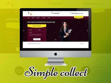 Simple Collect (Web Design & Development)