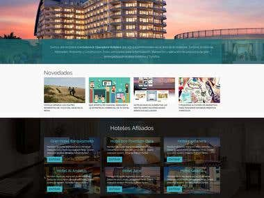 Global Hoteles - Corporate Web Site Design