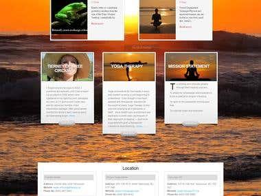 Yoga Website http://uyogatherapy.ca/