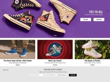 Shoes E-commerce Website