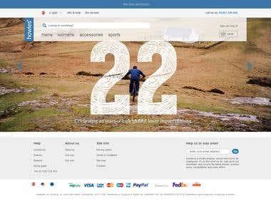 Accessories Website