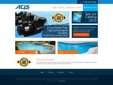 Acis - Corporate Web Site Design