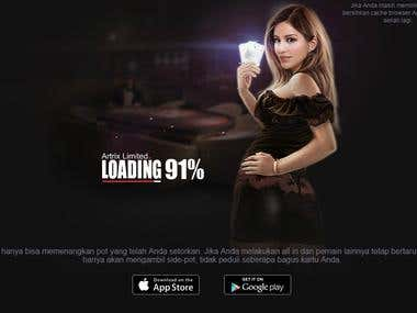English- Indonesian Poker game translation/localization