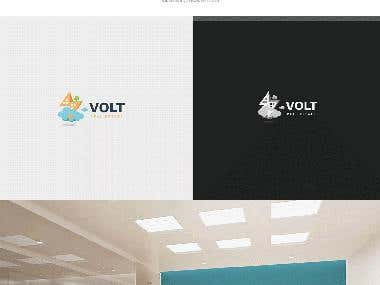 Logo Design / Volt Real Estate