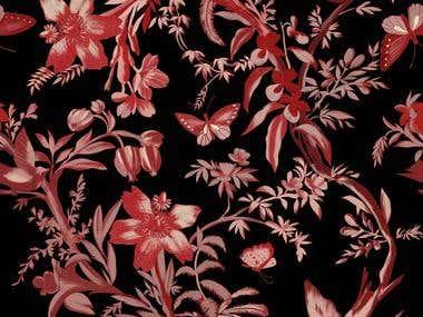 Textile/Scarf/Hijab Print Design