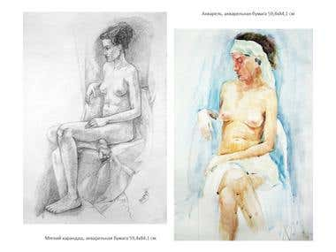 Academic drawing and painting